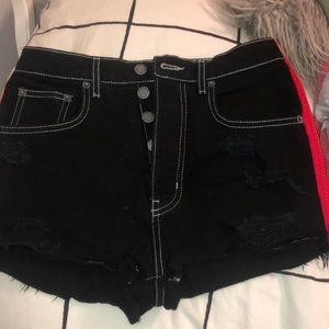 LF brand jean shorts